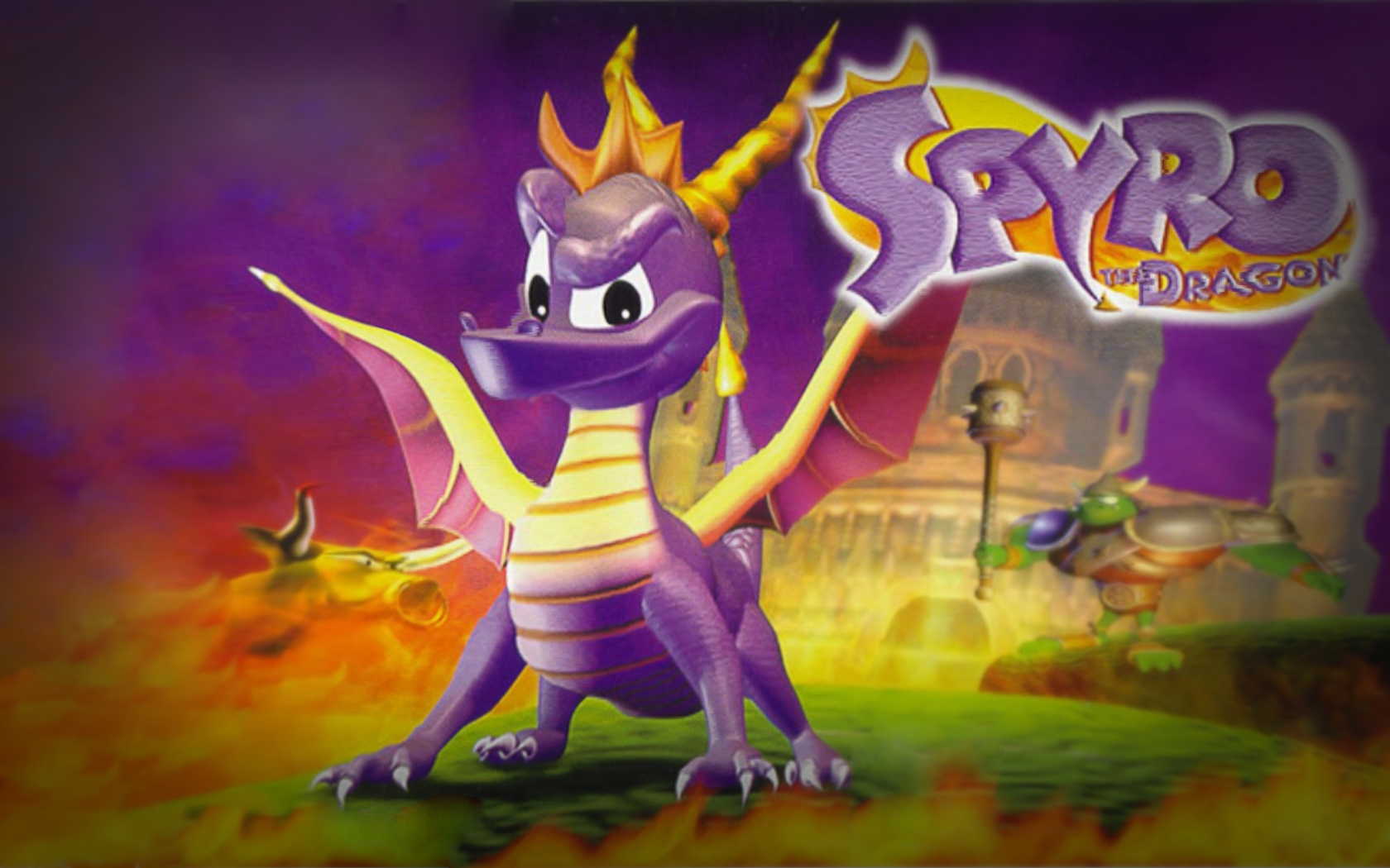 Spyro The Dragon Ps1 Wallpaper Images & Pictures - Becuo