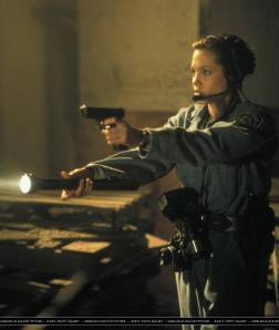 Angelina really was gutted that she missed out on the Ghostbuster job.
