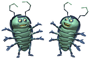 I had a whole circus of A Bugs Life Characters