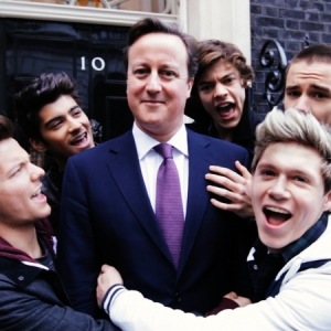 It takes a lot of effort to take a photo when David Cameron isn't the biggest p**** in it.