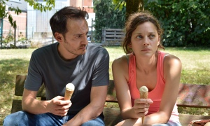 'Mesmerising': Marion Cotillard as Belgian factory worker Sandra with screen husband Fabrizio Rongio