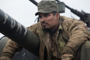 "Trini ""Gordo"" Garcia (Michael Pena) in Columbia Pictures' FURY."