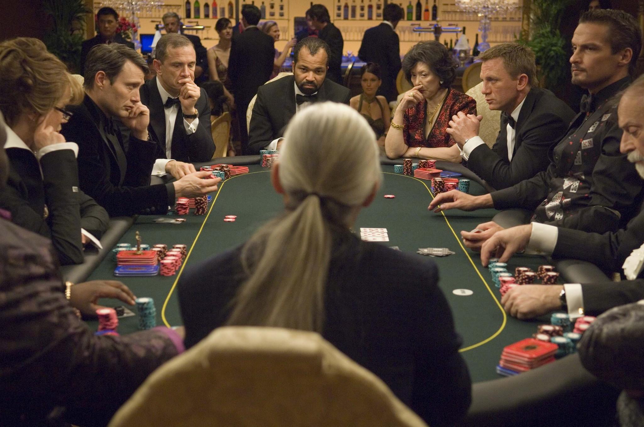 casino royale action scene