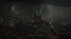 Marvel's Ant-Man  Scott Lang/Ant-Man (Paul Rudd) amongst his ants.  Photo Credit: Film Frame  © Marvel 2015