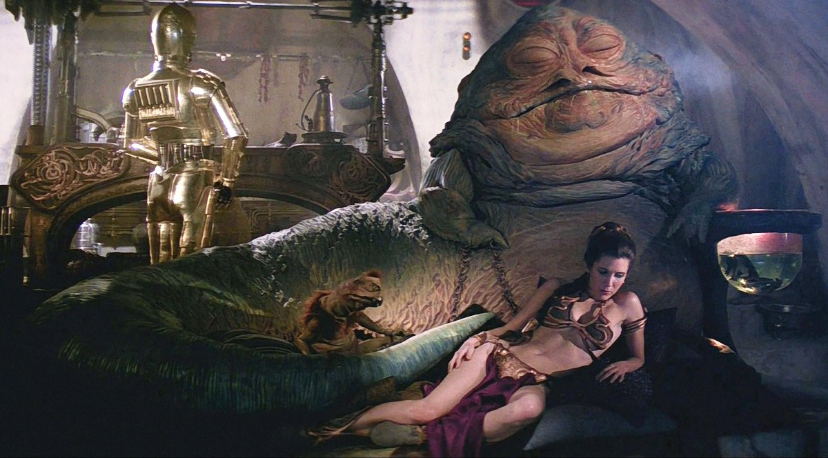 Star Wars Episode VI – Return Of The Jedi: The Review ... Jabba The Hutt Choked