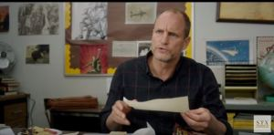 This is Woody Harrelson judging your team for next year.